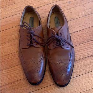 Alfani platinum men's dress shoes